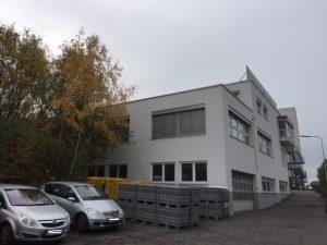 Modernes Verwaltungs- und Produktionsgebäude Niefern
