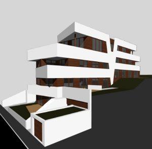 Projektiertes Mehrfamilienhaus mit 6 exklusiven Eigentumswohnungen in Pforzheim-Südstadt, Humboldtstr. 20. Baubeginn Ende 2020 / Anfang 2021. Näheres auf Anfrage